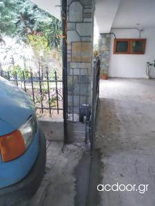 Μετατροπή ανοιγόμενης γκαραζόπορτας σε αυτόματη συρόμενη (3)