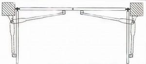 Εγκατάσταση αυτόματων μηχανισμών σε ανοιγόμενες γκαραζόπορτες (2)